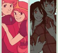 PG&PB, Marceline&Marshall Lee.