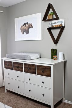 Sweet Woodland Themed Nursery With Bear Accents A Cute Gender Neutral Hand