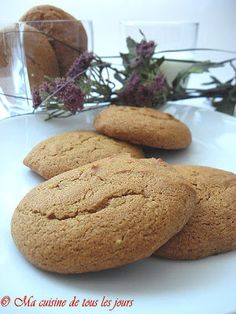 Desserts With Biscuits, Bon Dessert, Christmas Snacks, French Food, Oatmeal Cookies, Macarons, Cookie Recipes, Sweet Tooth, Muffins