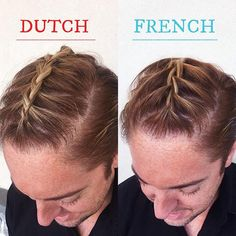 Dutch braid or french braid either way were loving the man dutch braid or french braid either way were loving the man braid at hairbyhal hair by hal jolie salon and day spa hairstylist philadelp ccuart Gallery
