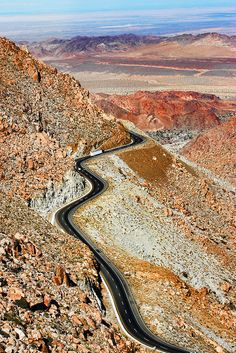 La Rumorosa Highway near Tecate, Baja California, Mexico