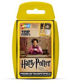 TOP TRUMPS HARRY POTTER UND DER ORDEN DES PHÖNIX #TopTrumps #HarryPotter #OrdendesPhönix #Harry #Hogwarts #Hermine #Dumbledore #Ron #Lupin #SiriusBlack