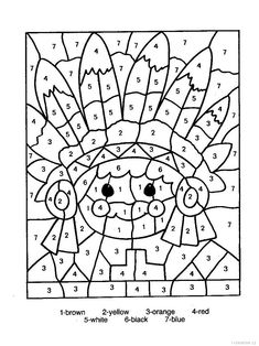 Check out our collection of printable color by number worksheets for kids. Browse and print these coloring pages to help kids practice skills like number recognition, using a legend and more. Cool Coloring Pages, Free Printable Coloring Pages, Adult Coloring Pages, Coloring Pages For Kids, Coloring Sheets, Coloring Books, Kids Coloring, Coloring Worksheets, Alphabet Coloring