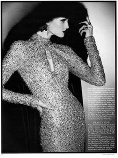 fashion over reason: Film noir.  retro glam