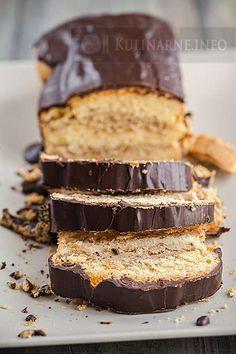 Ciasto z kremem kawowym Polish Desserts, Polish Recipes, Cookie Desserts, Sweet Recipes, Cake Recipes, Dessert Recipes, Kolaci I Torte, Different Cakes, Sweets Cake