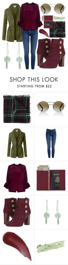 """🍀🍀🍀"" by avagoldworks ❤ liked on Polyvore featuring Isabel Marant, Oliver Peoples, LE3NO, Carven, Royce Leather, Tommy Hilfiger, Charlotte Tilbury, By Terry and avagoldworks"