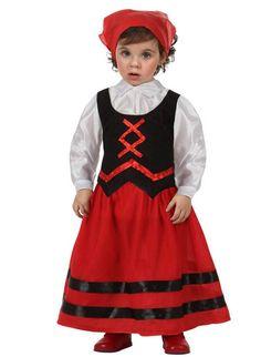 Disfraz de pastora para niña. Disponible en www.vegaoo.es