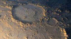 Científicos muestran donde podría haber nacido la vida en Marte