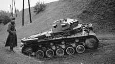 German light tank Panzer II