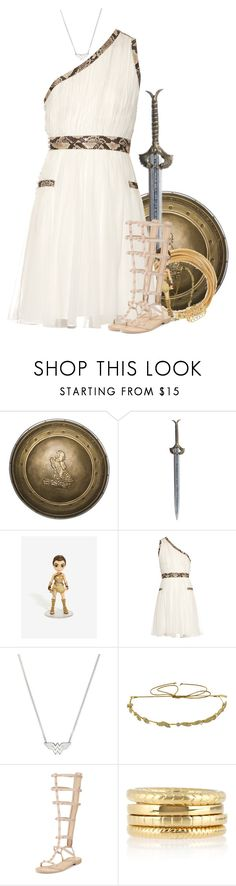 """Diana, Princess of Themyscira - Wonder Woman - DC"" by little-miss-otp ❤ liked on Polyvore featuring Rubie's Costume Co., Diane Von Furstenberg, Jennifer Behr, Rebecca Minkoff, Yves Saint Laurent and Mahnaz Ispahani"