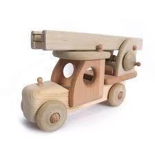 Bildresultat för simple wooden firetruck