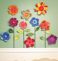 3D Fabric Flowers
