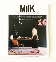The June/July @MilkDecoration is here. #milkdecoration #style #inspiration #interiors #design #interiordesign #spaces #home #aurelielecuyer #francoisdumas #henrikvibskov #lidewijedelkoort #waltervanbeirendonck