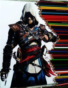 Assassin's Creed art amazing