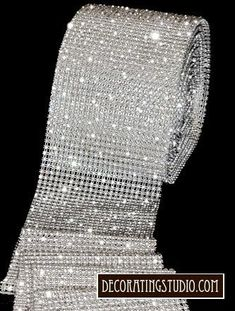 Elegant rows of crystal rhinestone banding is perfect bling for your wedding cake tier decoration. Rows of rhinestones from 4 row to 24 row available. 60 Wedding Anniversary, Anniversary Parties, Diamond Anniversary Cake, Rhinestone Wedding, Crystal Rhinestone, Crystal Wedding, Diy Wedding, Wedding Day, Wedding Cakes