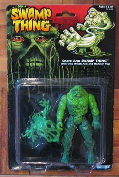 Toychest Time Machine: Remembering Kenner's 'Snare Arm Swamp Thing' (1990)