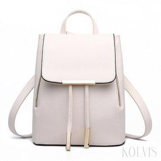 FH Herald High Quality Leather Backpack