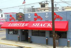 10 Great Places to Eat in Wildwood New Jersey - Lobster Shack is located right off the Wildwood Boardwalk and has delicious & affordable seafood. Casual dining at it's best!