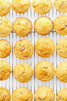 Ham Cheese Breakfast Muffins Recipe @Amy Johnson / She Wears Many Hats