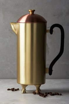 Anthropologie Bronzed French Press https://www.anthropologie.com/shop/bronzed-french-press?cm_mmc=userselection-_-product-_-share-_-40103426