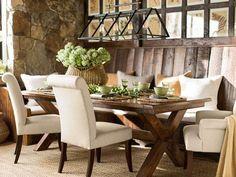 Cortona Extending Table & Chair 7-Piece Dining Set | Pottery Barn ...
