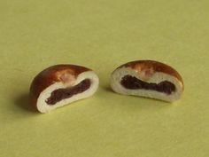 anpan (read bean paste bread)