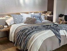 Detalhe: paredes cinza claro e chumbo. Lookbook Zara Home.