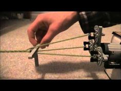 Lego Rope Maker-by VCLegos - YouTube Rope Maker, Model Ship Building, Rainy Day Crafts, 3d Cnc, How To Make Rope, Vintage Suitcases, Model Ships, Bushcraft, Paracord