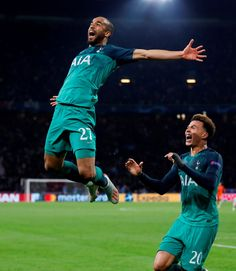 What a night part two! Spurs' stunning comeback against Ajax – in pictures Tottenham Hotspur Wallpaper, Amazing Comebacks, Lucas Moura, Tottenham Hotspur Players, Goals Football, Dele Alli, Tottenham Hotspur Football, Sports Celebrities, Football Players