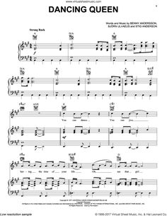 ABBA – Broadway Selections from Mamma Mia! (complete set of parts) sheet music for voice, piano or guitar - Art Station 2020 Easy Guitar Songs, Ukulele Songs, Piano Songs, Ukulele Chords, Piano Music, Music Songs, Music Videos, Clarinet Sheet Music, Sheet Music Book