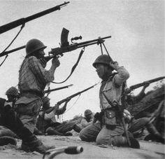 Para mediados de 1942, el Ejército Imperial Japonés se había ganado la reputación de invencible entre los paises aliados que le combatian