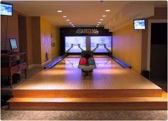 basement bowling alley - Google Search