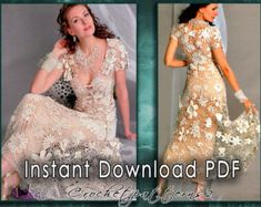 Instant Download Spring/Summer blouse crochet von Crochetpatterns2