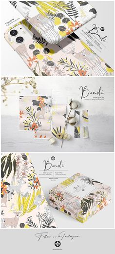 Presenting Bondi Design, playful elements in elegant color combinations with a touch of innocent details. It comes in a seamless repeat pattern in layers and a Graphic Design Projects, Print Design, Graphic Patterns, Print Patterns, Hand Sketch, Pattern Illustration, Repeating Patterns, Background Patterns, Surface Design
