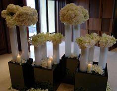 Inspiration - White Hydrangeas