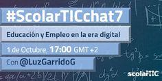 """""""Educación y Empleo en la era digital"""" Luz Garrido."""