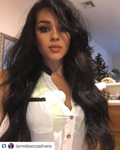 Love Customer Selfies!  #Repost @iamrebeccasilvera with @repostapp.  When I'm missing my long hair my @duchessandheiresshair  is my go to (Cambodian virgin)  2x26 2x24  #Hair #longhairdontcare #cambodianhair #virginhair #rebeccasilvera #shegotgame #natural #christmasale #fleek #lahair #miami #losangeles #bundles by duchessandheiresshair