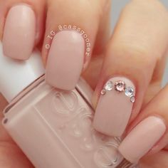 @essiepolish topless and barefoot and some Swarovski crystals for a little lady like bling.