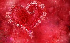 Download wallpapers Valentine Day, 4k, hearts, love patterns, creative