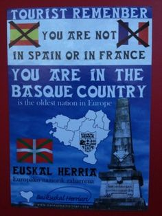 My last name is French BASQUE. They wanted to be seperated from France. and they did it sometimes not whitout terrorisme. Now it's pretty calm upthere and you can visit. Pays Basque France, Guggenheim Bilbao, Bay Of Biscay, Asturian, Biarritz, Basque Country, Spain And Portugal, My Heritage, Spain Travel