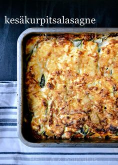Cookery Books, Eat Lunch, Lasagna, Low Carb Recipes, Food Inspiration, Side Dishes, Food And Drink, Veggies, Vegetarian