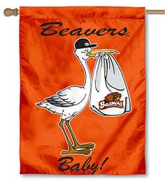 Oregon State Beavers New Baby Banner