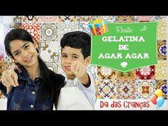Gelatina de Agar Agar - Receita Especial Dia das Crianças