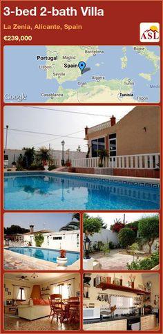 3-bed 2-bath Villa in La Zenia, Alicante, Spain ►€239,000 #PropertyForSaleInSpain