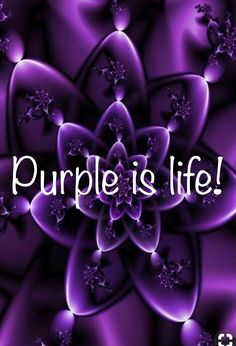 I love purple. This is gorgeousness! Purple Art, Purple Love, All Things Purple, Shades Of Purple, Deep Purple, Purple And Black, Pink Purple, Purple Stuff, Pink Lila