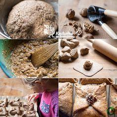 Kuchařka ze Svatojánu: OŘECHOVÉ ŠÁTEČKY Sweets, Bread, Vegan, Food, Traditional, Sweet Pastries, Meal, Gummi Candy, Candy Notes