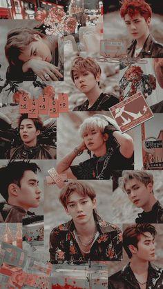 Read 53 (EXO from the story Wallpaper by crlnn_yunitaa (Yunita Caroline Sianturi) with reads. Exo Wallpaper Hd, Kpop Wallpapers, Baekhyun Wallpaper, Kpop Exo, Exo Chanyeol, K Pop, Exo Album, Exo Group, Exo Lockscreen