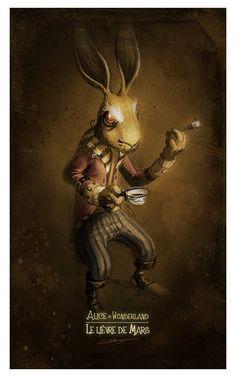 Alice in Wonderland by Xavier Collette,