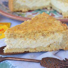 Tarta de ricota sin azúcar Sweet Cooking, Cornbread, Vanilla Cake, Baked Goods, Low Carb, Gluten Free, Diet, Baking, Ethnic Recipes