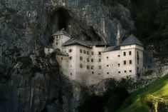 yourdailypics: Beautiful and mysterious Predjamski Castle, Southern Slovenia